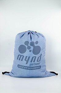 Sacochila Mynd Linho Azul