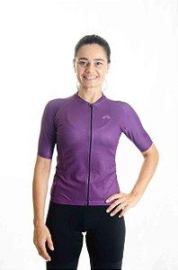 Camisa Ciclismo Feminino Basic 2021 Colors Uva
