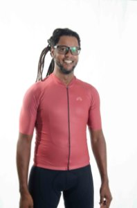 Camisa Ciclismo Masculina Basic 2021 Colors Cobre