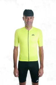 Camisa Ciclismo Masculina Basic 2021 Exclusive Neon