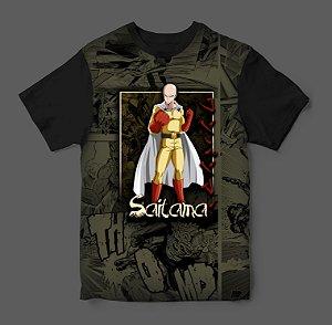Camiseta 3D - One Punch Man - Saitama