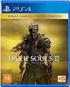 Dark Souls III The Fire Fades Edition - PS4 USADO