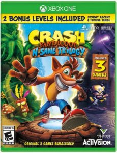 Crash Bandicoot N Sane Trilogy - XONE