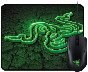 Mouse Razer Combo Goliathus Small Fissure & Abyssus 2.000 Dpi ( Versão Speed )