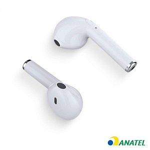 Fone de Ouvido Bluetooth Easy W1 Tws - Branco