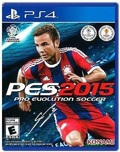 PES 2015 - PS4 Usado