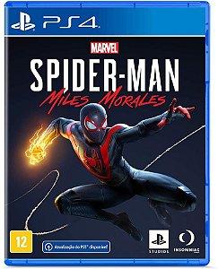 Marvel Spider - Man  Miles  Morales PS4