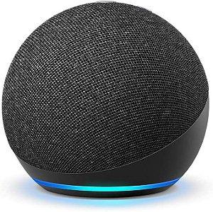 Echo Dot (4ª Geração): Smart Speaker com Alexa - Cor Preta