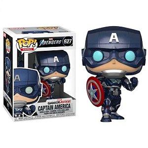 Pop! Marvel: Avengers Game - Captain America (stark Te) - #627