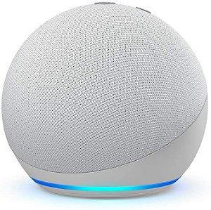 Echo Dot (4ª Geração): Smart Speaker com Alexa - Cor Branco