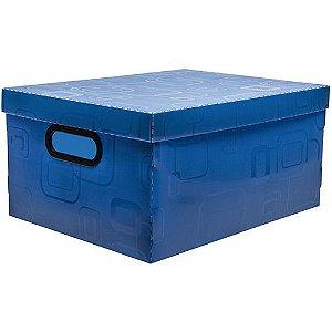 Caixa Organizadora N/3 Media Azul - Dello