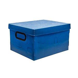 Caixa Organizadora N/02 Pequena Azul - Dello