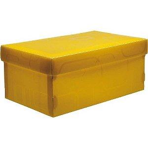 Caixa Organizadora N/01 Mini/sapato Amarelo -dello