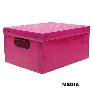 Caixa Organizadora N/3 Media Rosa Pink - Dello