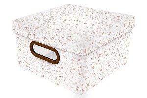 Caixa Organizadora Granilite P Rosa - Dello