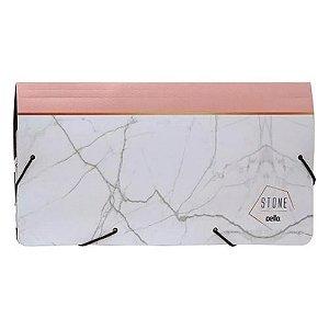 Porta Documentos Stone Rosa - Dello