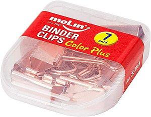 Binder Clips 25mm C/7 Rose - Molin