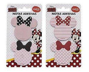 Bloco Notas C/2 50f Minnie Mouse - Molin
