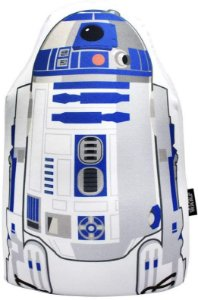 Almofada Formato Microperolas R2d2 Star Wars -zona