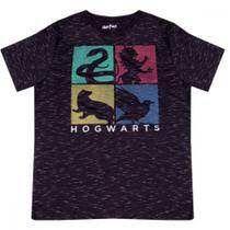 Camiseta Hogwarts Casas Tamanho M - Zona