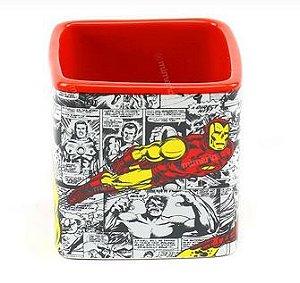 Caneca 300ml Cubo Iron Man - Zona