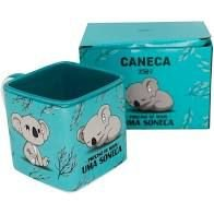Caneca 300ml Cubo Coala - Zona