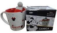 Caneca 350ml C/infusor Cha Minnie Mouse - Zona