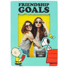 Porta Retrato 18x13cm Mdf Friendship Goals - Zona