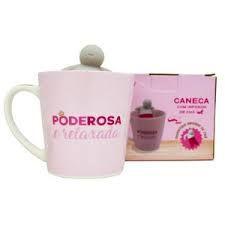 Caneca 350ml C/infusor Cha Poderosa - Zona