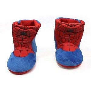 Pantufa Unissex Tam G 32/34 Spider Man- Zona