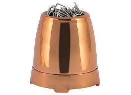 Porta Clips Metal Cobre - Waleu