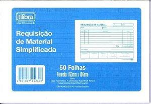 Bloco 50f Requisicao Material Simplificado-tilibra