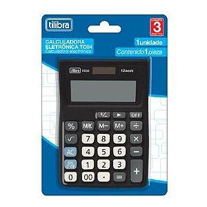 Calculadora Bolso Tc04 Preta - Tilibra