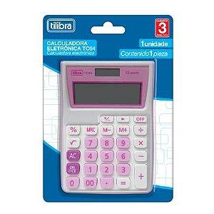 Calculadora Bolso Tc04 Rosa - Tilibra