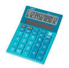 Calculadora Mesa 12 Digitos Azul - Molin