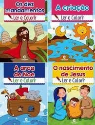 Historias Biblicas Para Ler E Colorir - Culturama