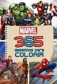365 Desenhos Para Colorir Marvel - Culturama