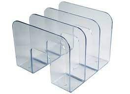 Organizador Livro Standard Cristal - Waleu