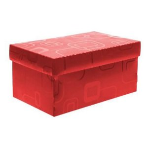 Caixa Organizadora N/01 Mini/sapato Vermelh -dello