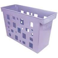 Caixa Arquivo Multiuso S/p Lilas Pastel - Dello