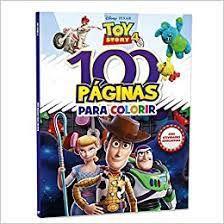 Disney 100 Paginas P/colorir Toy Story Iv - Bicho