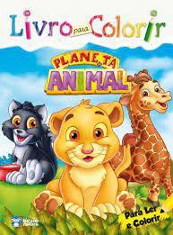 Livro P/colorir - Planeta Animal - Bicho Esperto