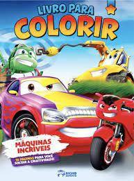Livro P/colorir Meninos Maquinas Incriveis - Bicho