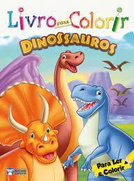 Livro P/colorir - Dinossauros - Bicho Esperto