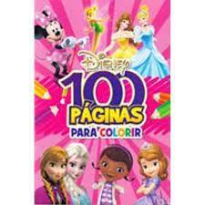 Disney 100 Paginas P/colorir Meninas - Bicho