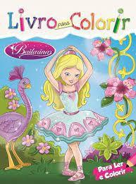 Livro P/colorir - Bailarinas - Bicho Esperto