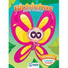 Colorir Bichinhos - Borboletas - Bicho Esperto