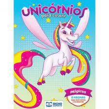 Colorir Unicornios Magicos - Bicho Esperto
