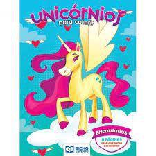 Colorir Unicornios Encantados - Bicho Esperto