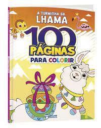 100 Paginas P/colorir Turminha Da Lhama - Bicho